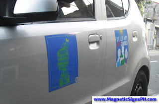 Car Door Magnets - Full Color Printing