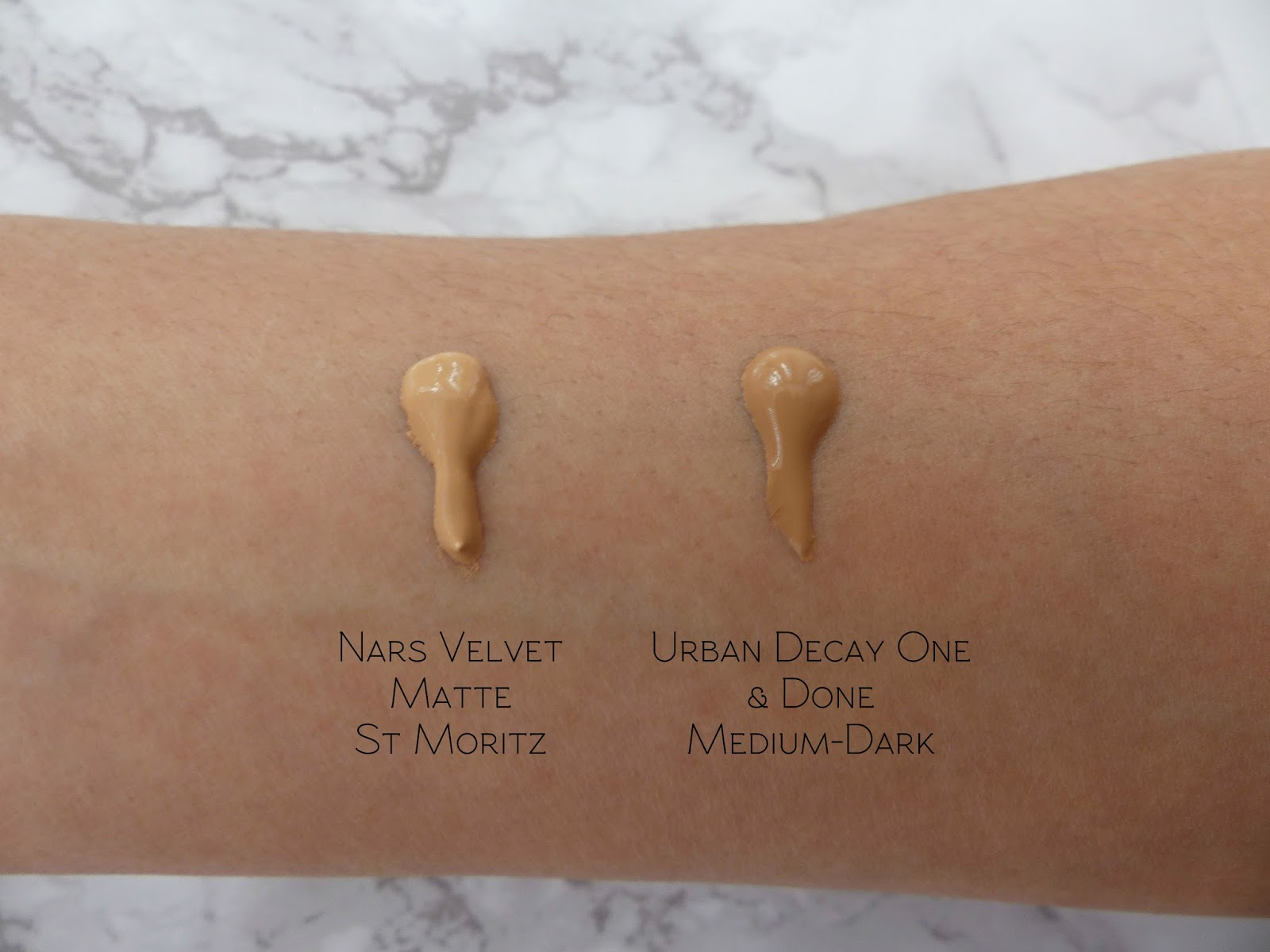 Which Do You Need? | Nars Velvet Matte Skin Tint vs Urban Decay ...
