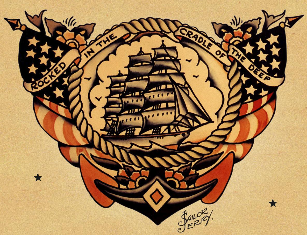 Sovereign Of The Seven Seas Sailor Tattoos And Their Meanings