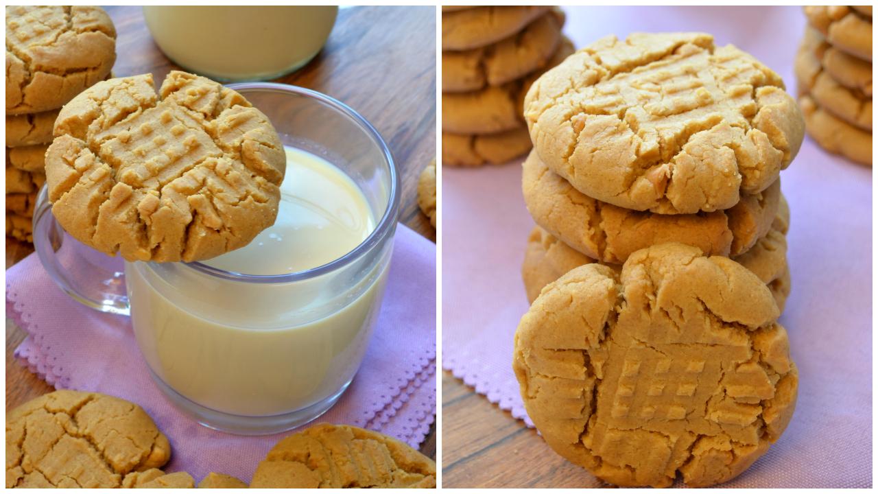 Cookies croquants au Beurre de Cacahuètes