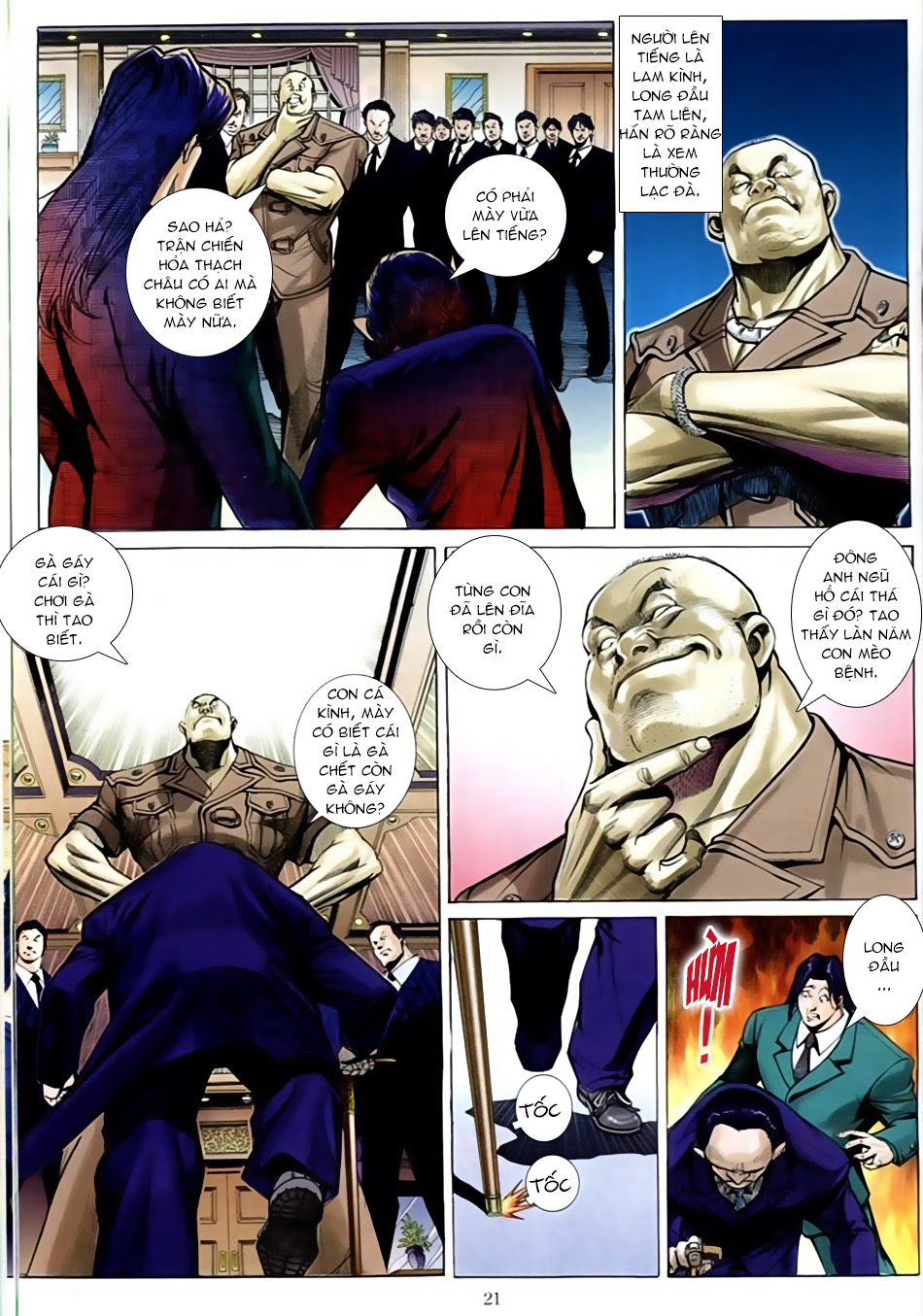 Người Trong Giang Hồ chapter 586: lưỡi chiến quần hùng trang 17