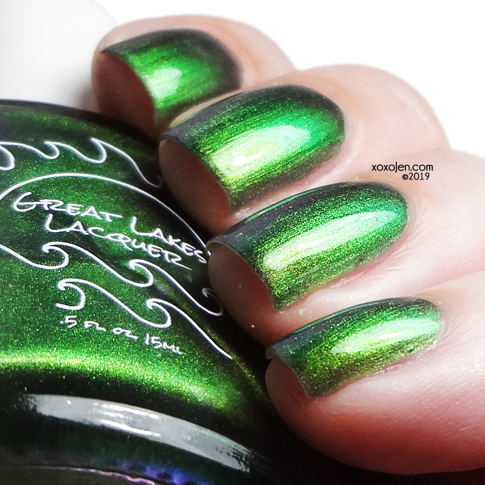 xoxoJen's swatch of Great Lakes Lacquer I Have Been Her Kind