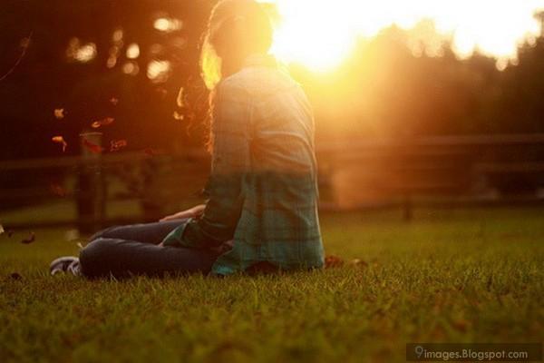 Sadness, alone, girl, sunset, broken, heart, lonely