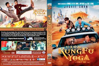 CARATULA KUNGFU YOGA 2017 [ COVER DVD ]