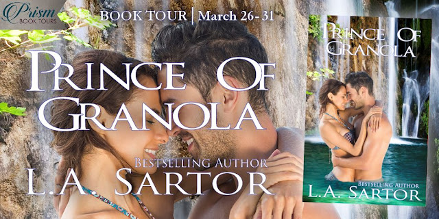 Prince of Granola by L.A. Sartor tour banner