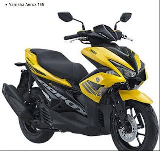 Gambar Yamaha Aerox 155
