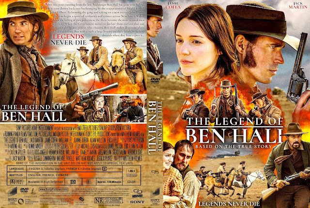The Legend of Ben Hall DVD Cover