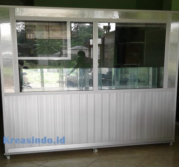 Jasa Pembuatan Gerobak Alumunium Jus Buah Unik Dan Minimalis Siap Pakai Di Jabodetabek