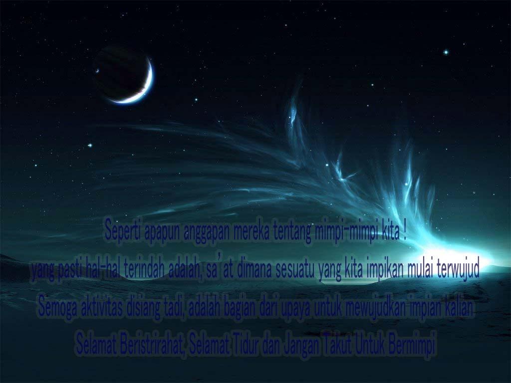 Ucapan Selamat Malam Tidur Terbaik Untuk Seseorang Kata Wawartos