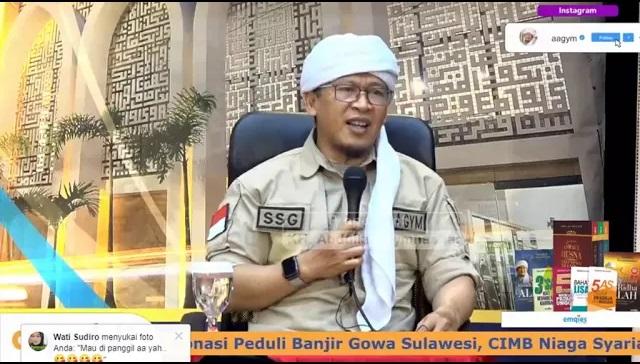 Sindiran Keras Aa Gym kepada Ridwan Kamil