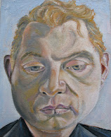 My Interpretive Painting of Francis Bacon