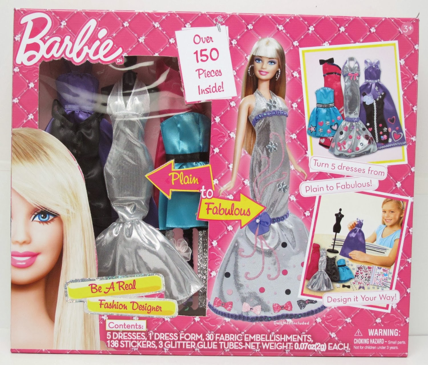 Barbie Fashion Show Game Eye Style