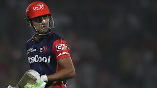 IPL 2018: DD Captain गौतम गंभीर ने कैपटेन्सी ने दिया इस्तीफा, अब ये होंगे  नये कप्तान