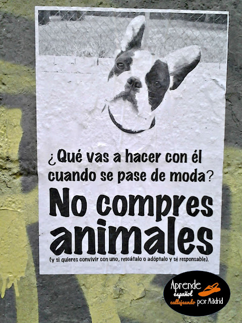 no compres animales
