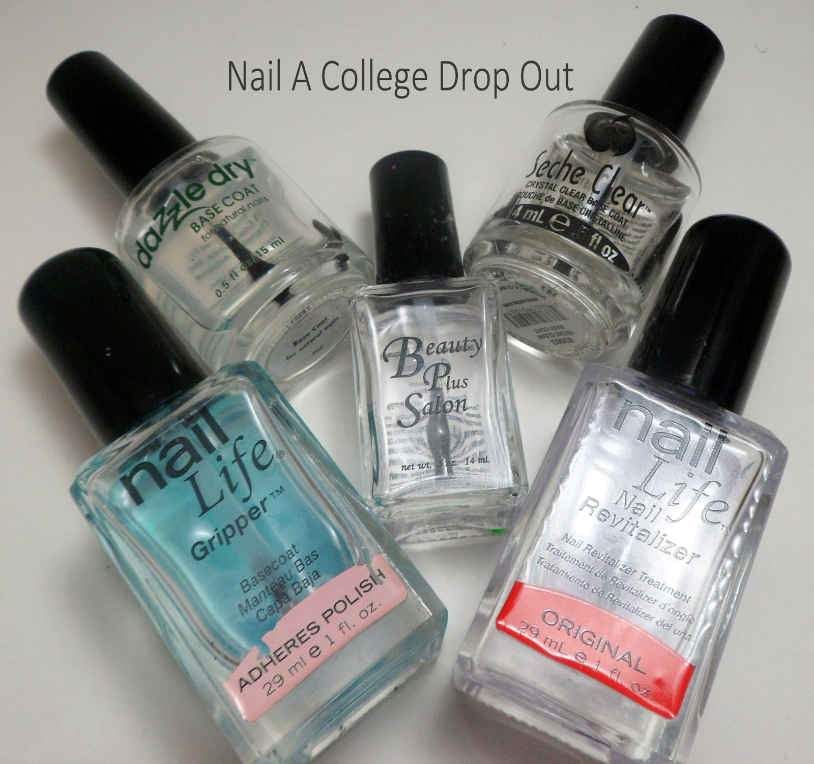 Nail A College Drop Out My Complete Nail Care Routine