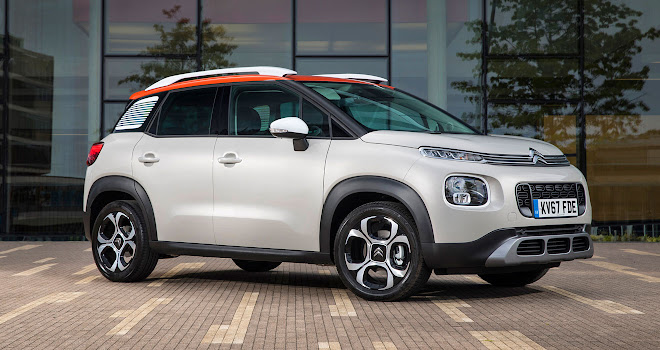 Citroen C3 Aircross front quarter view