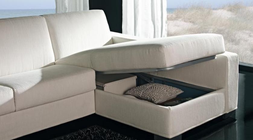 Sof s cama chaise longue comodidad elegancia y servicio for Sofa cama sin somier