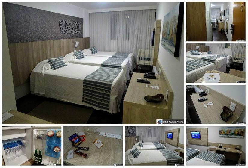 Onde ficar em Belo Horizonte (MG) - review hotel Allia Gran Pampulha