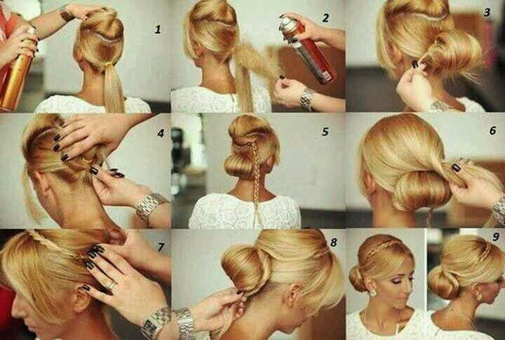 8 penteados de festa - Coque sofisticado