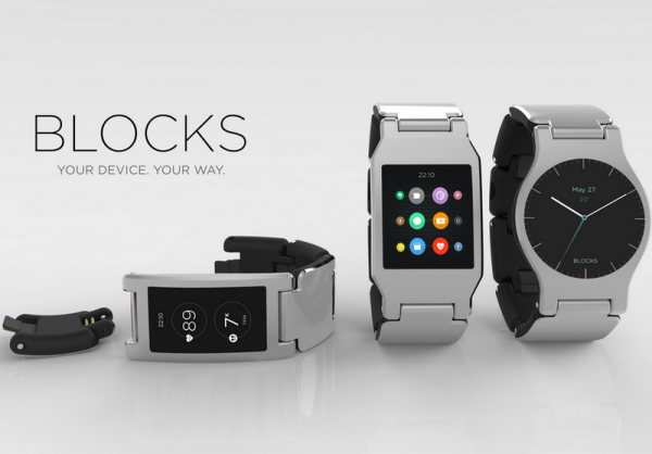 BLOCKS SMARTWATCH World's first modular smartwatch ...