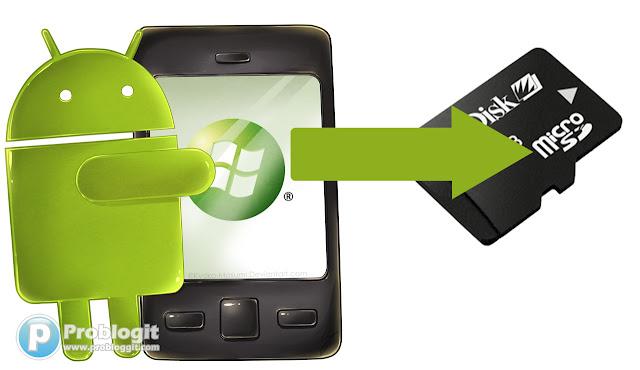 Cara memindahkan aplikasi android ke kartu memory sd card