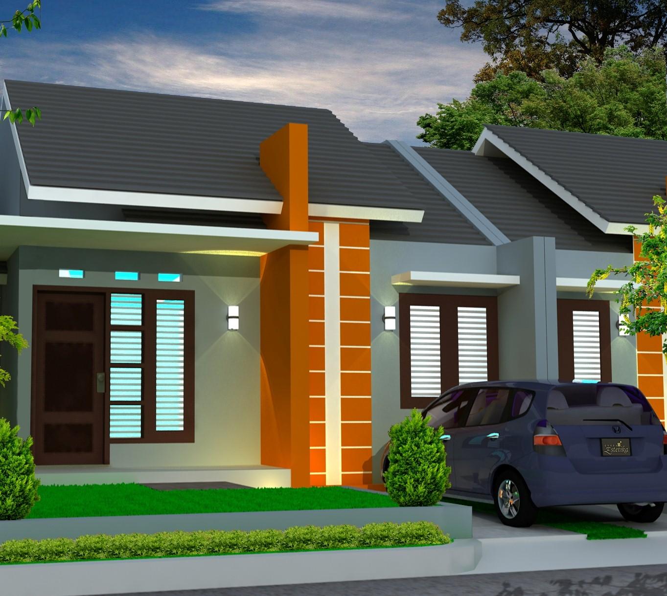 Warna Cat Rumah Minimalis Type 36