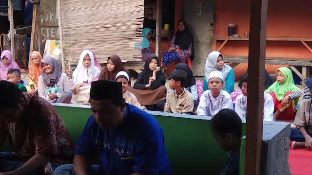 Bro Aris Kuncoro Ketua Umum SP Linfox turut menghadiri acara santunan anak yatim