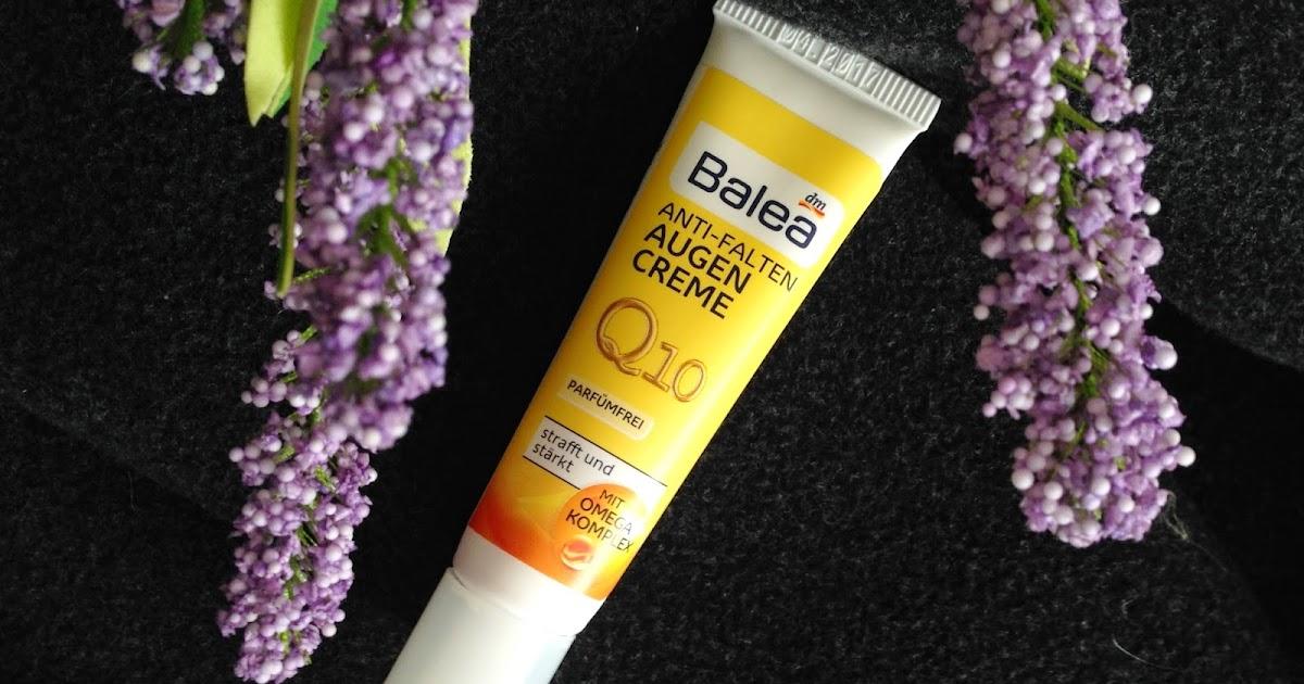 Babski Azyl: Balea Anti-Falten Augen Creme Q10