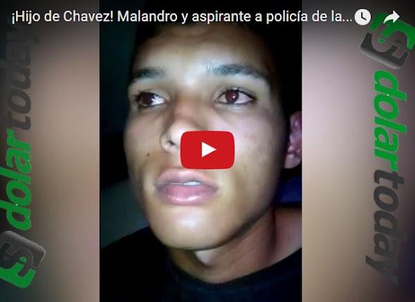 Estudiantes de policía de la UNES salen a robar con permiso de superiores