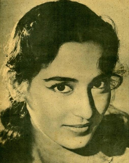Hindi Movie Actress Nutan - Various Photographs 1950-60S -8385
