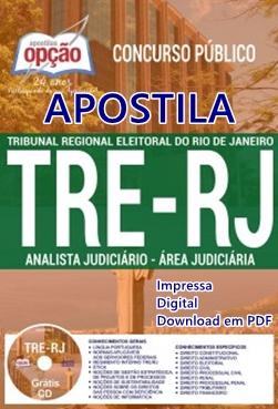 Apostila TRE RJ Analista Judiciário - Área Judiciária TRERJ