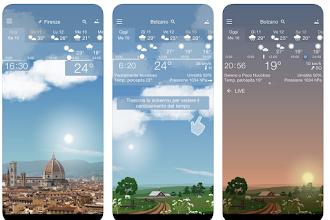 OGGI GRATIS: ottima App da 3,49 € per consultare il meteo in modo divertente!