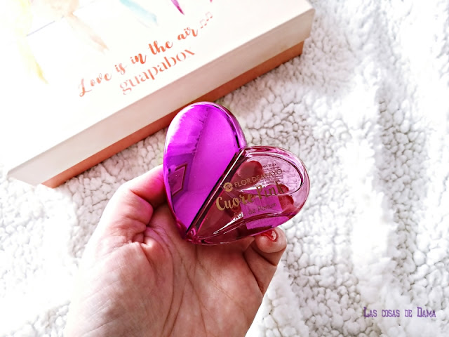 Guapabox Febrero beautybox beauty flor de mayo eau de parfum fragancia