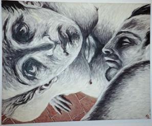 pintura de Luis Eduardo Aute