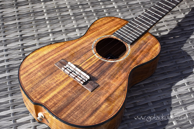 World Of Ukes Pioneer T1 Tenor Ukulele body