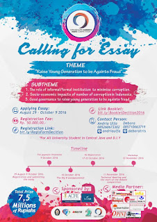 Diponegoro Economics Debate Competition 2016