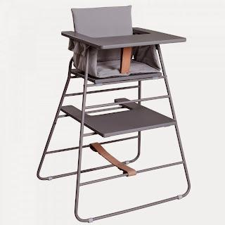 Zusammenklappbarer Hochstuhl Tower Chair von Budtz Bendix