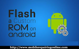 root and flash a custom rom android