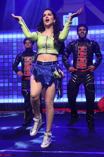 Sunny Leone Dancing on stage At Rogue Movie Audio Music Launch ~  131.JPG
