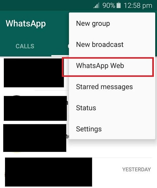 how to connect your whatsapp on phone to pc