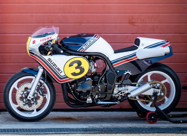 Italian Dream Motorcycle Lucky Legend Suzuki Bandit 1200