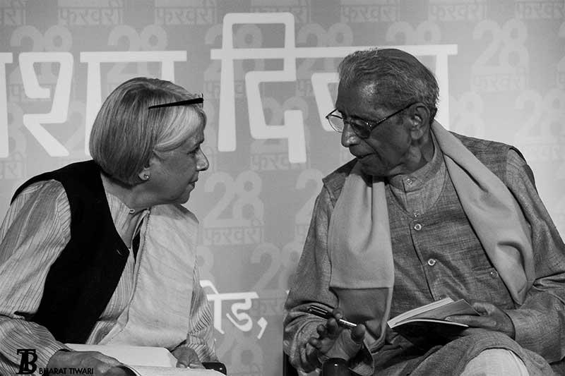 namvar-singh-Vasudha-Dalmia-photo-bharat-tiwari-rajkamal