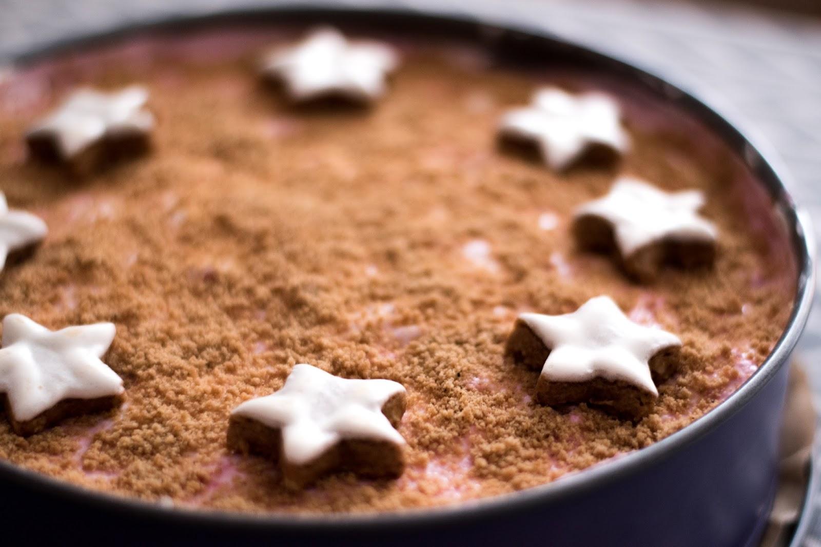 Weihnachtliche Spekulatiustorte - Ganz ohne backen innerhalb von 10 Minuten zubereitet!