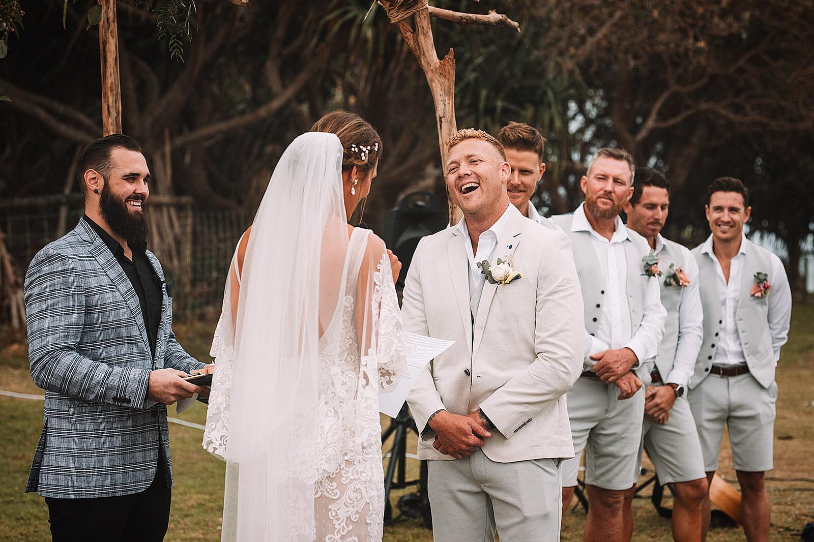 Q+A: SAM CAPEWELL   FUN-LOVING WEDDING  CELEBRANT BRISBANE QLD