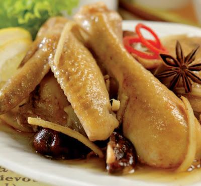 Resep Ayam Tim Jahe Goreng