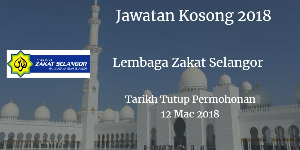 Jawatan Kosong MAIS 12 Mac 2018