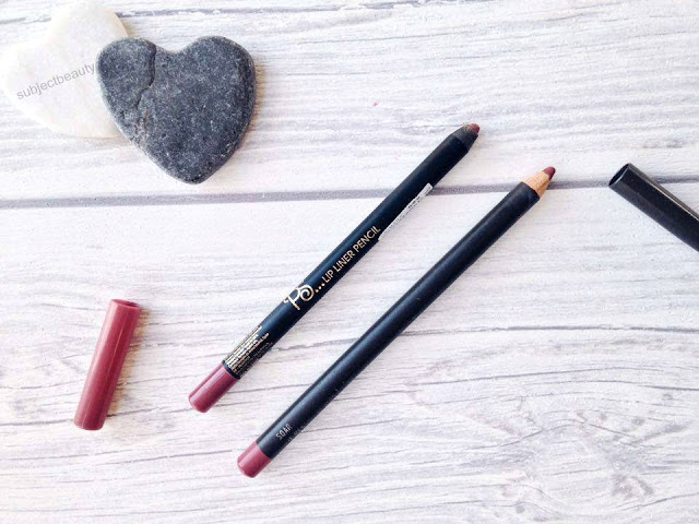 Primark and Mac Lip Liners Mac Dupe
