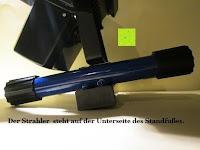 stehen Winkel: as - Schwabe Chip-LED-Akku-Strahler 10 W, geeignet für Außenbereich, Gewerbe, blau, 46971