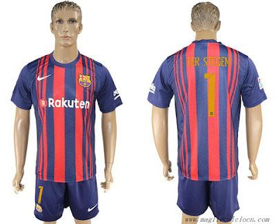 completo calcio FC Barcelona nazionali
