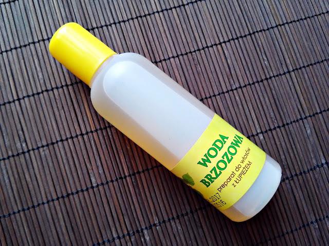 Barwa - Woda brzozowa - Preparat do włosów z łupieżem, opakowanie